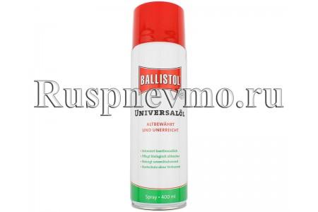 Масло оружейное Ballistol Spray 400 мл