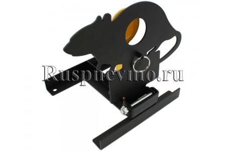 Мишень Крыса фигурная металлическая