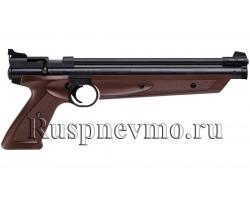 Пневматический пистолет Crosman 1377 brown