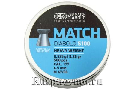 Пульки JSB Match Diabolo Blue 500 шт