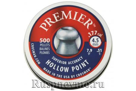 Пульки Crosman Premier Hollow Point 500 шт