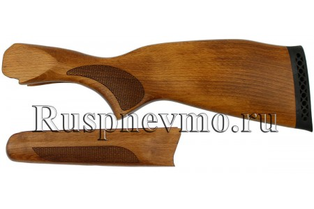 Приклад и цевье ИЖ-27 Бук резин. затыльник