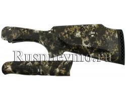 Приклад и цевье ИЖ-27 Камуфляж резин. затыльник, Монте-Карло