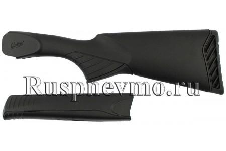 Приклад и цевье ИЖ-27 пластик резин. затыльник