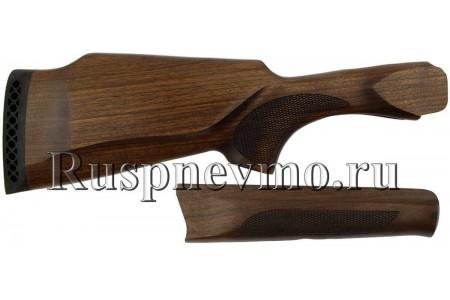 Приклад и цевье ИЖ-27 (старого образца) Орех резин. затыльник, Монте-Карло Левша