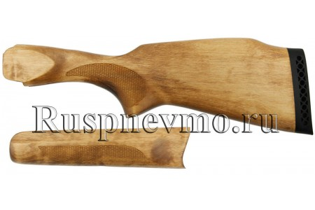 Приклад и цевье ИЖ-27 (старого образца) Береза резин. затыльник