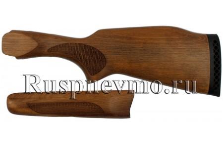 Приклад и цевье ИЖ-27 (старого образца) Бук резин. затыльник
