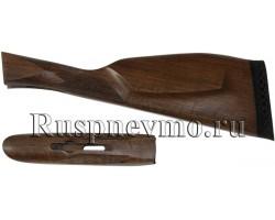 Приклад и цевье ИЖ-54 Орех резин. затыльник, Монте-Карло Англия