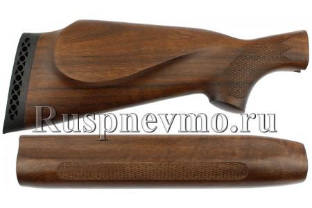 Приклад и цевье МР-153 Орех Монте-Карло Левша