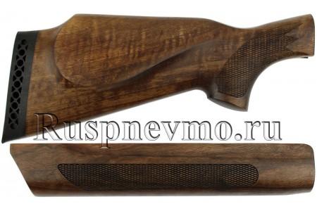 Приклад и цевье МР-155 Орех Монте-Карло Левша