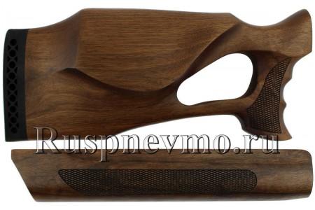Приклад и цевье МР-155 Орех Монте-Карло Ортопед левша