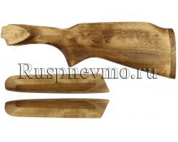 Приклад и цевье ТОЗ-34 Береза дерев. затыльник