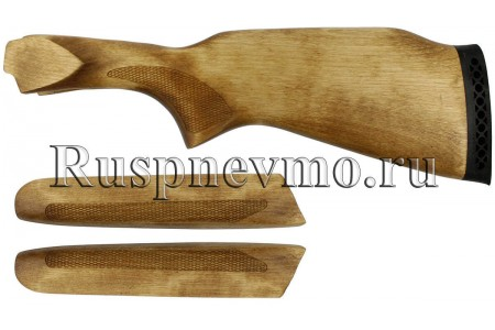 Приклад и цевье ТОЗ-34 Береза резин. затыльник