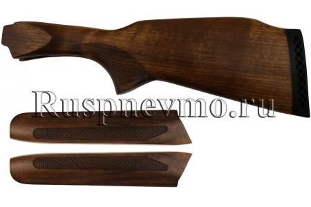 Приклад и цевье ТОЗ-34 Орех резин. затыльник